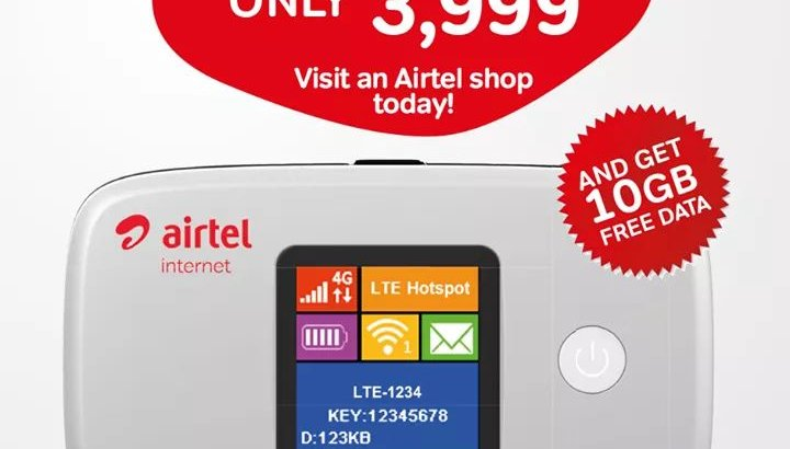 Airtel mifi
