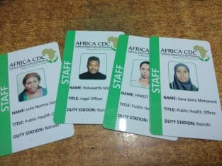 Plastic ID Printing services