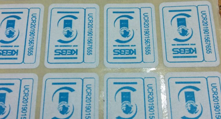 Kebs Stickers Printing Services