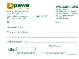 Customised Receipt books Printing