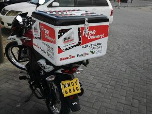 we make fibreglass delivery boxes for motorbikes