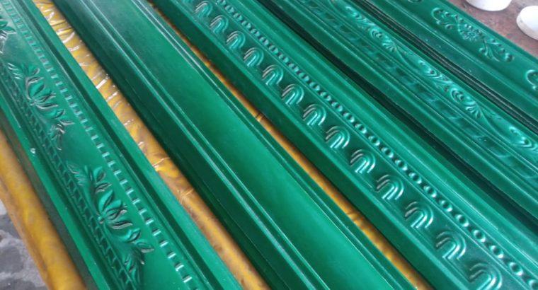 we make fibreglass molds for making gypsum cornice