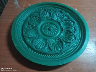 we make molds for making gypsum medallions