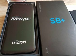 Samsung Galaxy S8 Plus 6.2 Inch 64GB 12MP Mobile