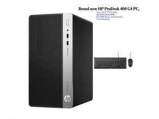 HP ProDesk 400 G4 Desktop with 18 inch monitor