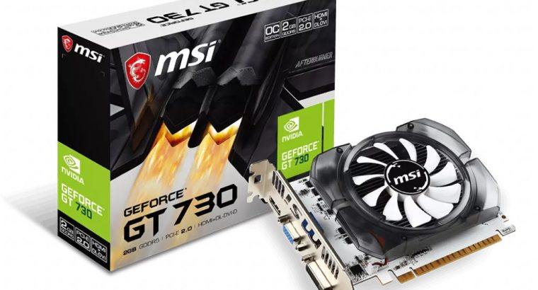 Nvidia 2GB GT 730 Graphics card