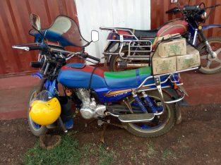Captain motorbike