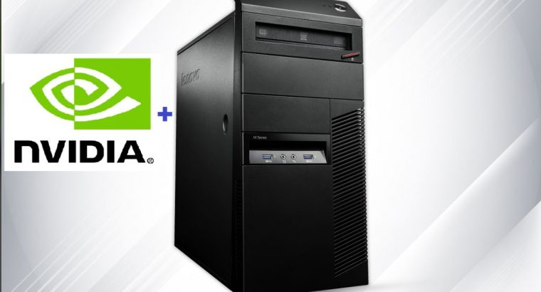 Refurbished Core i5 Lenovo Desktop PC 16gb RAM