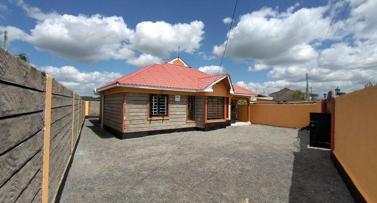 3 BEDROOM BUNGALOW MASTER ENSUITE – KIMBO,MATANGI.