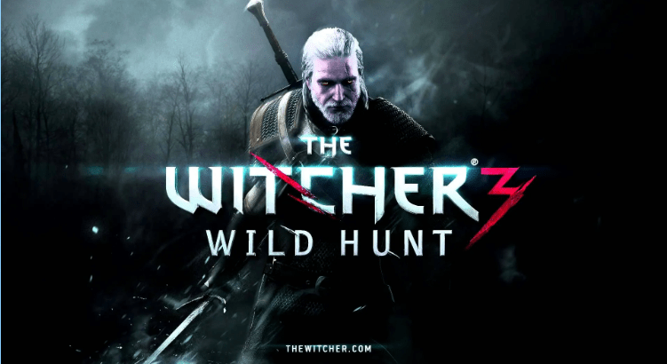 Witcher 3 The Wild Hunt Laptop/computer game