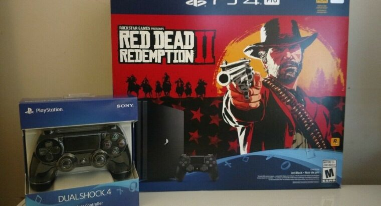 New Sony PlayStation 4 Pro 1TB Console Bundle