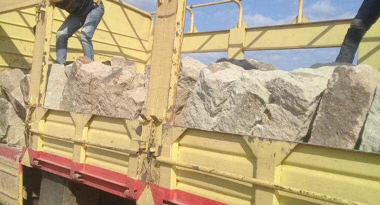 Bush stones / foundation hard stones
