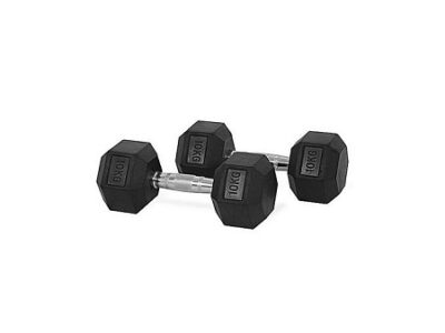 Generic rubber round dumbells with steel plate